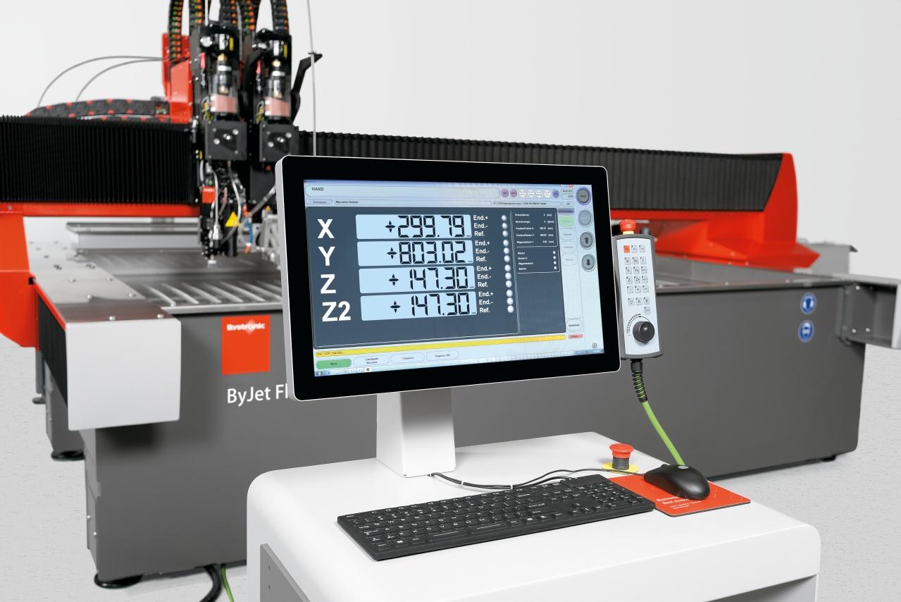 Bystronic Waterjet cutting machine ByJet Flex